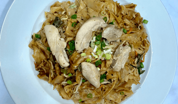 Frozen Sauteed Signature Flat Rice Noodles with Black Bean & Chicken